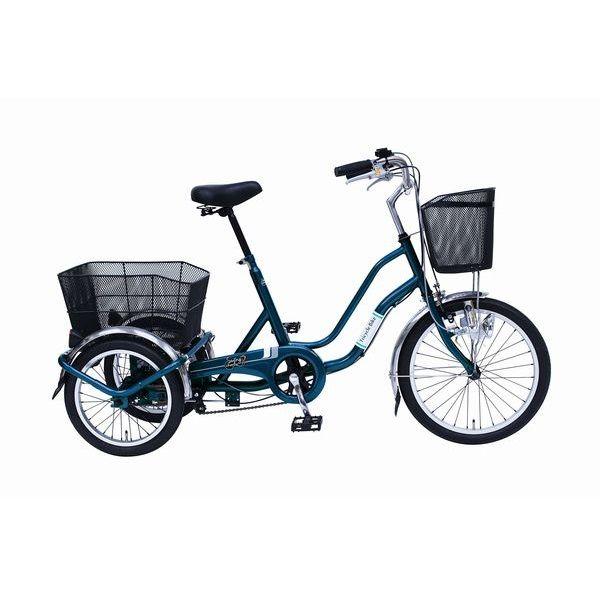 【ミムゴ】SWING CHARLIE2 三輪自転車E/20インチ [ティールグリーン] MGTRW20E [在庫限り](2426628)※代引不可