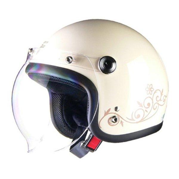 LEAD工業 リードコウギョウQP-2 スモールジェットヘルメット アイボリー QP2スモールジェットアイボリー(2458769)代引不可 送料無料