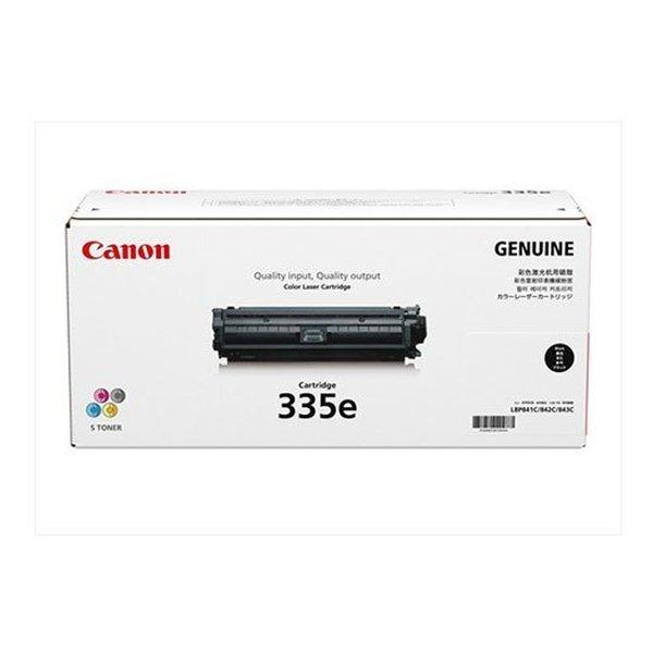 Canon キヤノン CRG-335EBLK トナーカートリッジ335e(ブラック)(2407857)代引不可 送料無料
