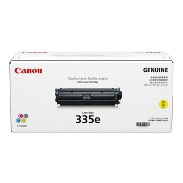Canon キヤノン CRG-335EYEL トナーカートリッジ335e(イエロー)(2407860)代引不可 送料無料