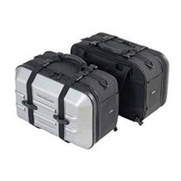 TANAX タナックスツアーシェルケース2 ヘアラインシルバー MFK249(2458672)代引不可 送料無料