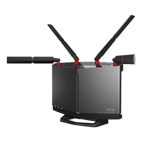 Wi-Fi 6対応ルーター 大特価!! フラッグシップモデル 激安☆超特価 BUFFALO バッファローAirStation チタニウムグレー 2511835 WXR-6000AX12S 送料無料