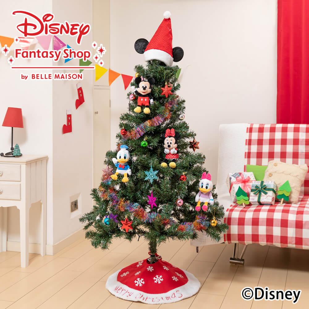 ディズニー/クリスマスツリーセット「スペシャルクリスマス」150cm(LEDライト付き)