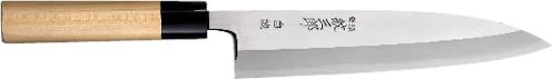 【受注生産】紋三郎 本霞 白誠/身卸出刃包丁/150mm