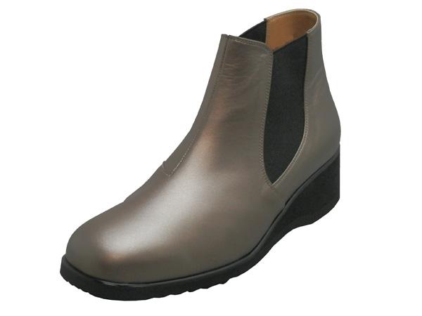 No.101の履き易さはそのままに。軽くて歩きやすいブーツタイプを作りました|No.1954(ブロンズ)おしゃれ 日本製 本革 ウォーキング 軽い ゆったり カジュアル フォーマル