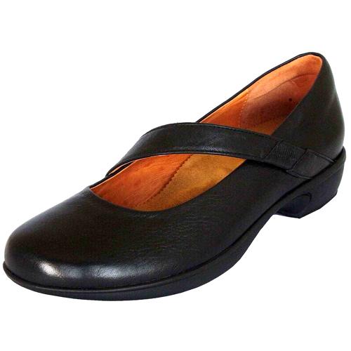 ファッション 健康を考えた靴 送料無料 代引手数料無料 No.50400 ブラック 甲ベルト付きローヒールパンプス 出群 HPS hps おしゃれ 本革 冠婚葬祭 外反母趾 お出掛け 疲れにくい コンフォートシューズ 履きやすい ウォーキング 蒸れない 健康靴 安心の定価販売 カジュアル 婦人靴 手縫い 足ツボ