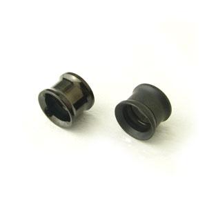 激安特価品 送料無料/新品 使いやすさ重視ならマスト ネジ式で痛くない 便利系ボディーピアス ダブルフレアでカッコ良く ボディピアス w-bkneji12mm ネジ開閉ダブルフレアブラック ボディーピアス 12ミリ