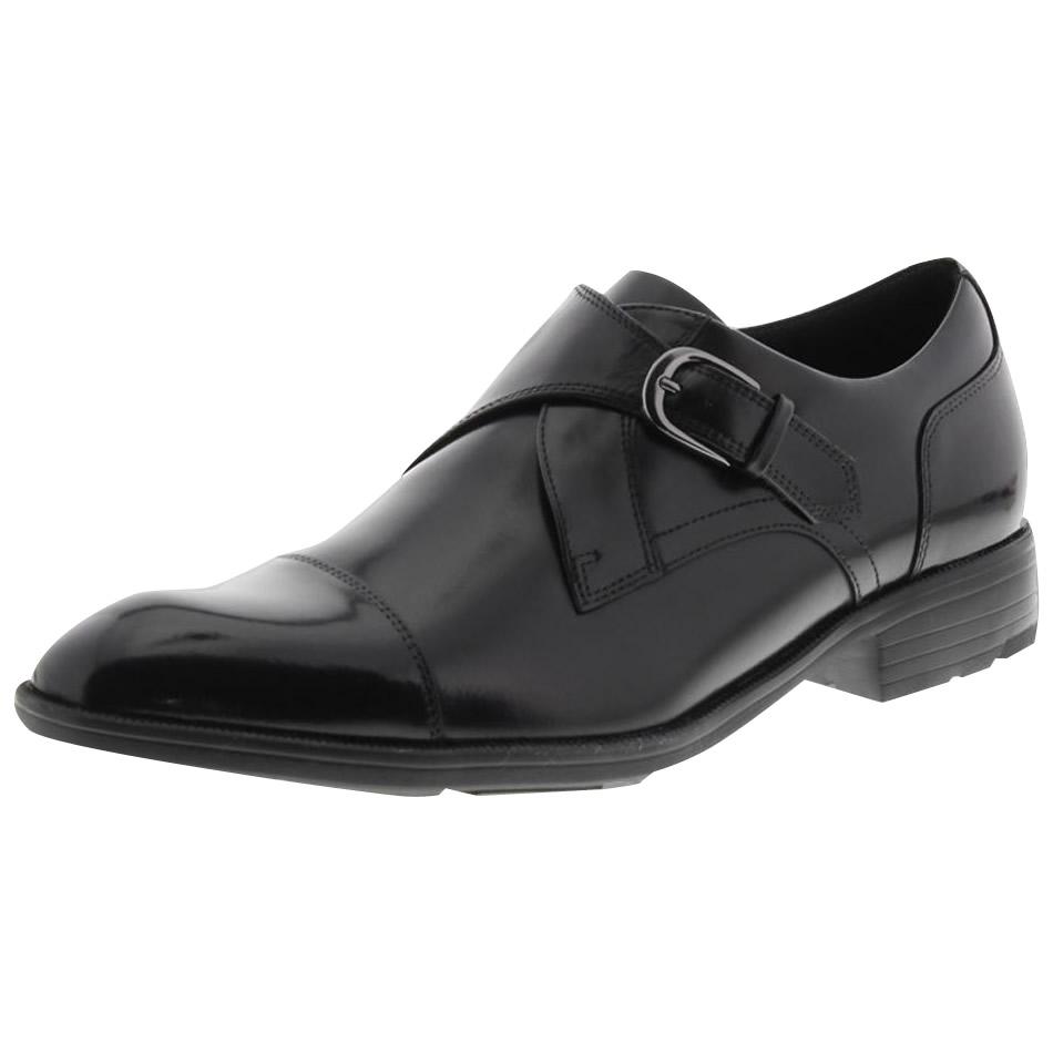 10000円以上送料無料 アシックス商事 ビジネスシューズ texcy luxe テクシーリュクス 2E相当 モンク TU-7004 ブラック 24.5cm 【服飾雑貨 レビュー投稿で次回使える2000円クーポン全員にプレゼント靴】