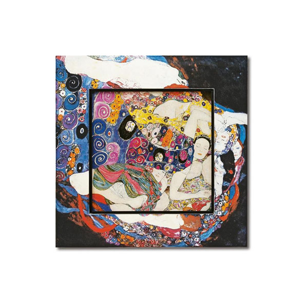 10000円以上送料無料 ユーパワー Big Art ビッグアート 名画ハイグロスシリーズ クリムト 「ザ・バージン」 BA-08503 【インテリア レビュー投稿で次回使える2000円クーポン全員にプレゼントその他インテリア】
