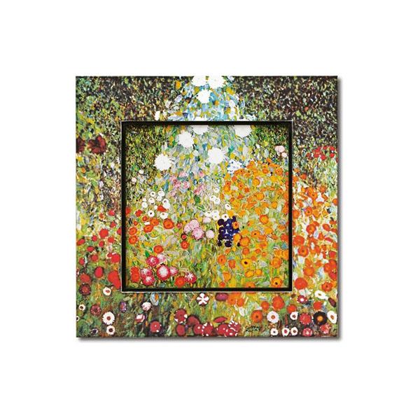 10000円以上送料無料 ユーパワー Big Art ビッグアート 名画ハイグロスシリーズ クリムト 「フラワーガーデン」 BA-08508 【インテリア レビュー投稿で次回使える2000円クーポン全員にプレゼントその他インテリア】