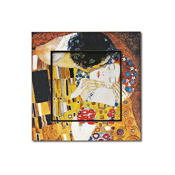 10000円以上送料無料 ユーパワー Big Art ビッグアート 名画ハイグロスシリーズ クリムト 「ザ・キス」 BA-08510 【インテリア レビュー投稿で次回使える2000円クーポン全員にプレゼントその他インテリア】