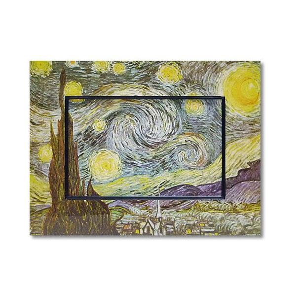 10000円以上送料無料 ユーパワー Big Art ビッグアート 名画ハイグロスシリーズ ゴッホ 「星月夜」 BA-08513 【インテリア レビュー投稿で次回使える2000円クーポン全員にプレゼントその他インテリア】