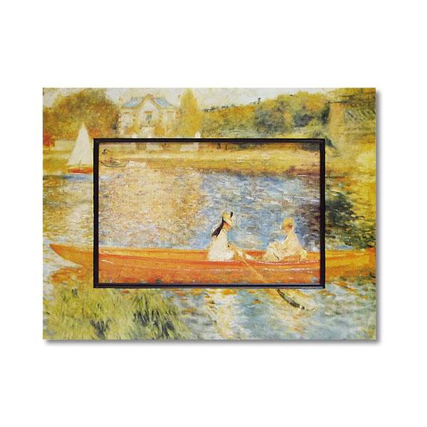 10000円以上送料無料 ユーパワー Big Art ビッグアート 名画ハイグロスシリーズ ルノワール 「アニエールのセーヌ川」 BA-08515 【インテリア レビュー投稿で次回使える2000円クーポン全員にプレゼントその他インテリア】