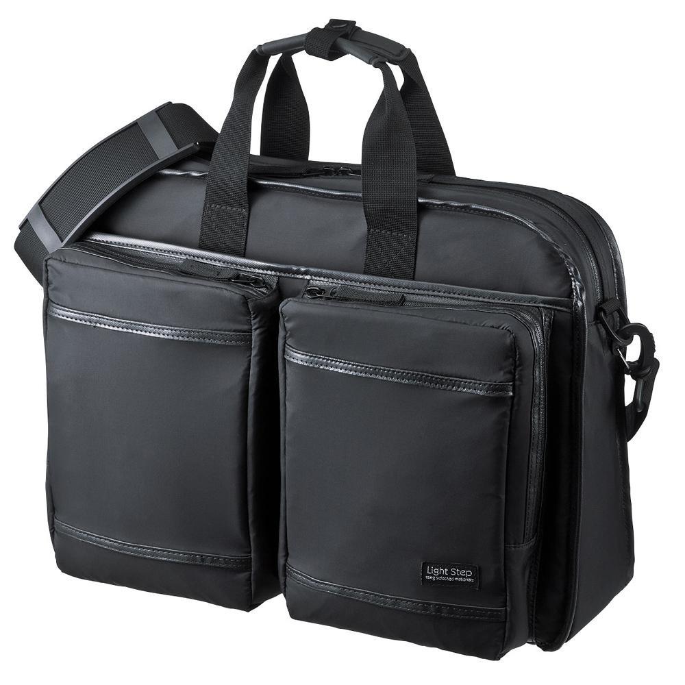 10000円以上送料無料 サンワサプライ 超撥水・軽量PCバッグ 15.6インチワイド シングル ブラック BAG-LW9BK 【服飾雑貨 レビュー投稿で次回使える2000円クーポン全員にプレゼントバッグ】
