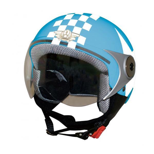 10000円以上送料無料 ダムトラックス(DAMMTRAX) ダムキッズ ポポGT ヘルメット BLUE/STAR 【スポーツ・アウトドア レビュー投稿で次回使える2000円クーポン全員にプレゼントカー・自転車】