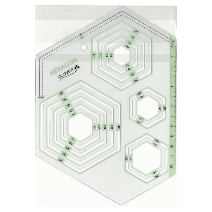 eagleeyeshopping clover template piece hexagon 57 995 rakuten