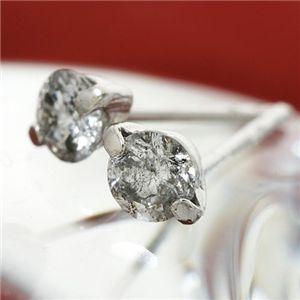 K18 0.3ct2ポイントセッティングダイヤモンドピアス ファッション ピアス・イヤリング 天然石 ダイヤモンド レビュー投稿で次回使える2000円クーポン全員にプレゼント