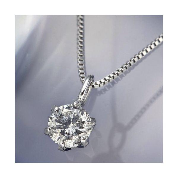 プラチナPt0.1ctダイヤモンドペンダント/ネックレス ファッション ネックレス・ペンダント 天然石 ダイヤモンド レビュー投稿で次回使える2000円クーポン全員にプレゼント
