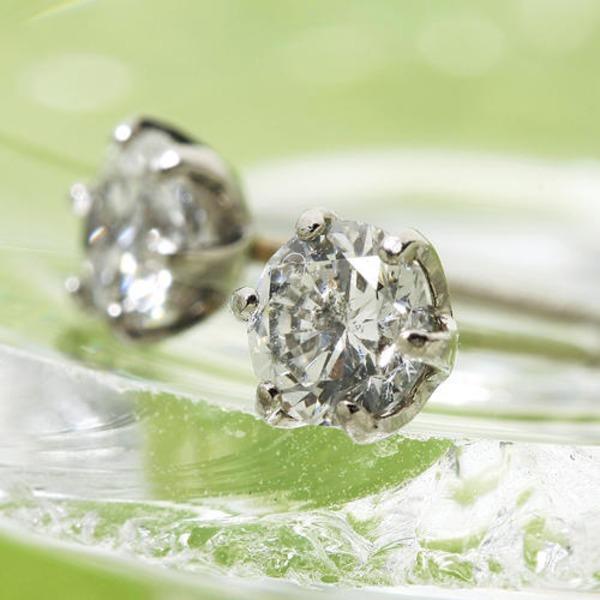 10000円以上送料無料 PT900 計0.5ct大粒ダイヤモンドピアス 一粒(プラチナ)144908 ファッション ピアス・イヤリング 天然石 ダイヤモンド レビュー投稿で次回使える2000円クーポン全員にプレゼント