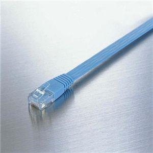 ELECOM(エレコム) スーパーフラットLANケーブル LD-CTFS_BU50 AV・デジモノ パソコン・周辺機器 ケーブル・ケーブルカバー LANケーブル レビュー投稿で次回使える2000円クーポン全員にプレゼント