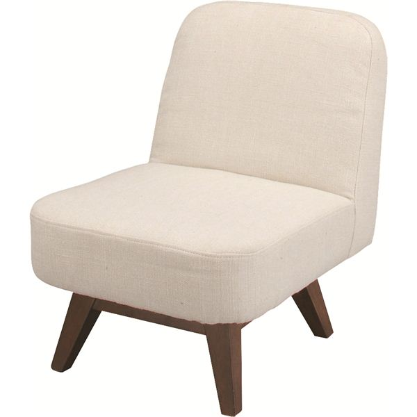 10000円以上送料無料 クッションローチェア(ルッカ) 木製 回転式 CL-61CBE ベージュ 生活用品・インテリア・雑貨 インテリア・家具 椅子 その他の椅子 レビュー投稿で次回使える2000円クーポン全員にプレゼント