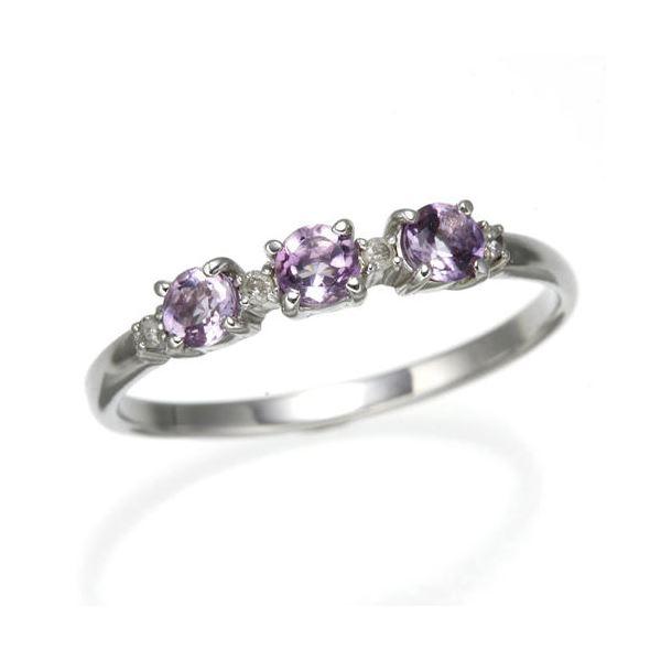 アメジストデザインリング 21号 指輪 ファッション リング・指輪 その他のリング・指輪 レビュー投稿で次回使える2000円クーポン全員にプレゼント