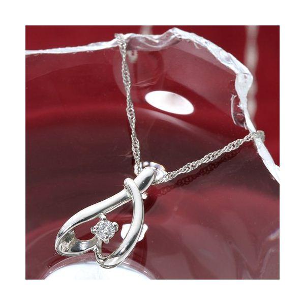 10000円以上送料無料 Pt900 プラチナ ダイヤモンド0.03ct ペンダント ファッション ネックレス・ペンダント 天然石 ダイヤモンド レビュー投稿で次回使える2000円クーポン全員にプレゼント