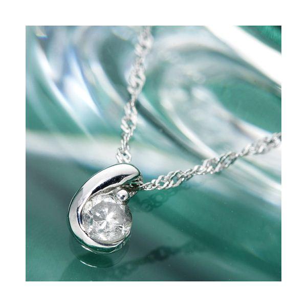 18金ホワイトゴールド(K18WG) ダイヤムーンペンダント ファッション ネックレス・ペンダント 天然石 ダイヤモンド レビュー投稿で次回使える2000円クーポン全員にプレゼント