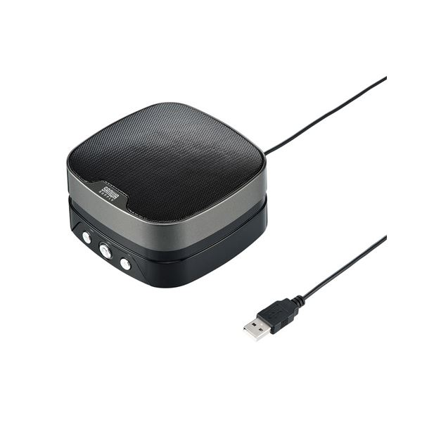 10000円以上送料無料 サンワサプライ WEB会議小型スピーカーフォン MM-MC28 AV・デジモノ パソコン・周辺機器 その他のパソコン・周辺機器 レビュー投稿で次回使える2000円クーポン全員にプレゼント