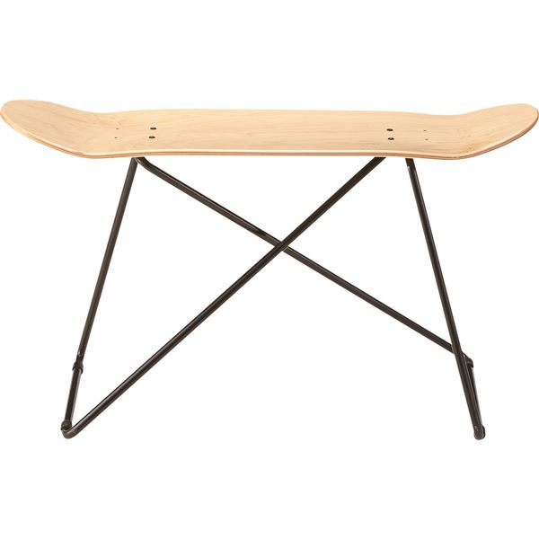 10000円以上送料無料 スツール(スケートボード型) 木製/スチール SF-201NA ナチュラル 生活用品・インテリア・雑貨 インテリア・家具 椅子 スツール・ベンチ レビュー投稿で次回使える2000円クーポン全員にプレゼント
