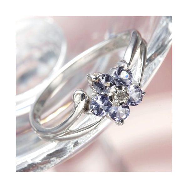 10000円以上送料無料 K10WG(ホワイトゴールド)タンザナイトリング 9号 ファッション リング・指輪 天然石 その他の天然石 レビュー投稿で次回使える2000円クーポン全員にプレゼント