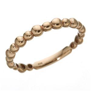 K10PGリング 15号 ファッション リング・指輪 その他のリング・指輪 レビュー投稿で次回使える2000円クーポン全員にプレゼント