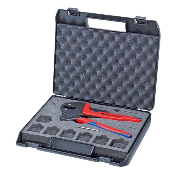 KNIPEX(クニペックス)9743-200 クリンピングシステムプライヤー スポーツ・レジャー DIY・工具 その他のDIY・工具 レビュー投稿で次回使える2000円クーポン全員にプレゼント
