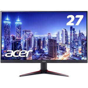 10000円以上送料無料 Acer 27型ワイド液晶ディスプレイ VG270bmiix(IPS/非光沢/1920×1080/16:9/250cd/m^2/100000000:1/1ms/ブラック/ミニD-Sub15ピン・HDMI 1.4 (HDCP2.2対応)/ゲーミング) AV・デジモノ パソコン・周辺機器 その他のパソコン・周辺機器 レ
