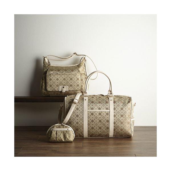 ボストン3点セット ゴールド K91011029 ファッション バッグ ボストンバッグ レビュー投稿で次回使える2000円クーポン全員にプレゼント