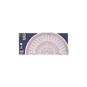 (業務用100セット) コンサイス 半円分度器 S-18 18cm 生活用品・インテリア・雑貨 文具・オフィス用品 製図用品 その他の製図用品 レビュー投稿で次回使える2000円クーポン全員にプレゼント