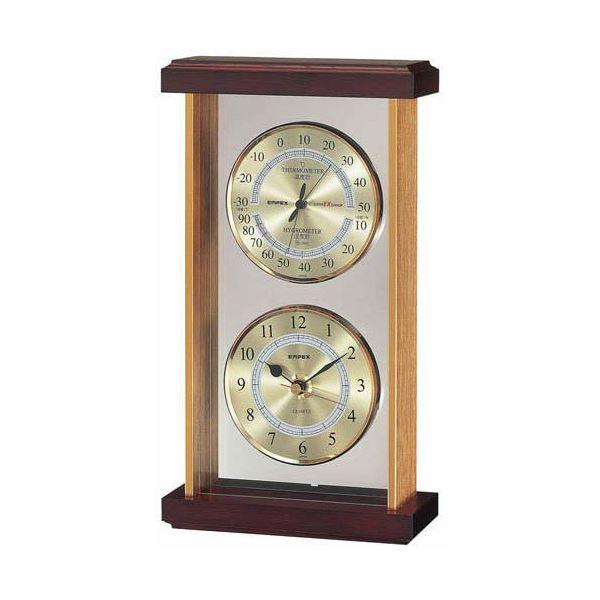 10000円以上送料無料 EMPEX スーパーEX 温・湿度・時計 EX-742 ゴールド 家電 生活家電 その他の生活家電 レビュー投稿で次回使える2000円クーポン全員にプレゼント