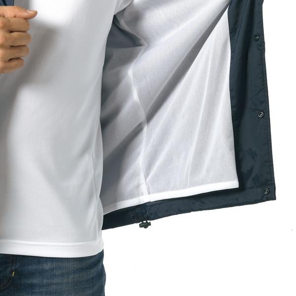 10000円以上 撥水防風加工裏地起毛付コーチジャケット バーガンディー M ファッション トップス ジャケット メンズジャケット レビュー投稿で次回使える2000円クーポン全員にプレゼント