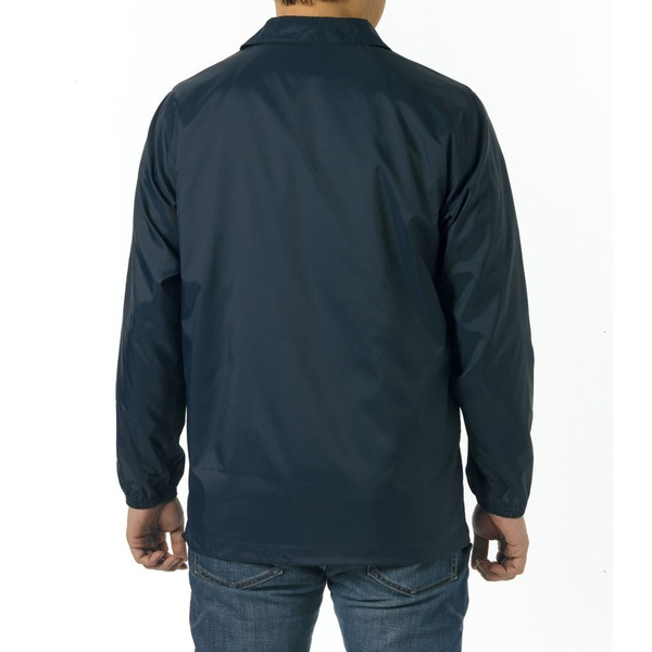 10000円以上 撥水防風加工裏地起毛付コーチジャケット ネイビー S ファッション トップス ジャケット メンズジャケット レビュー投稿で次回使える2000円クーポン全員にプレゼント