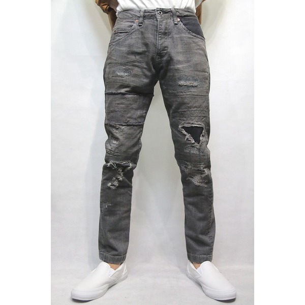 【送料無料】VADEL tight&easy ankle cut BLACK USED サイズ46【代引不可】 ファッション ボトムス ジーンズ レビュー投稿で次回使える2000円クーポン全員にプレゼント