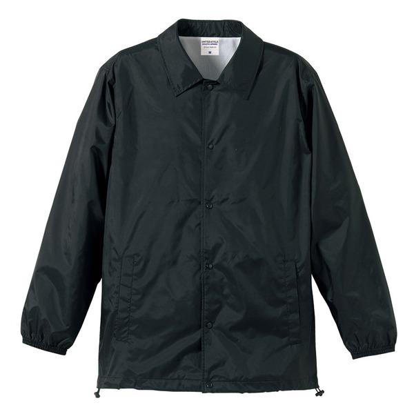10000円以上 撥水防風加工裏地起毛付コーチジャケット ブラック S ファッション トップス ジャケット メンズジャケット レビュー投稿で次回使える2000円クーポン全員にプレゼント