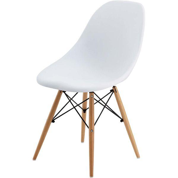 10000円以上送料無料 (2脚セット)東谷 ダイニングチェア(カフェチェア) 木製(天然木) CL-793CWH ホワイト(白) 生活用品・インテリア・雑貨 インテリア・家具 椅子 その他の椅子 レビュー投稿で次回使える2000円クーポン全員にプレゼント