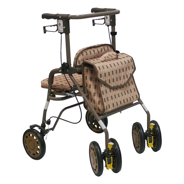 10000円以上送料無料 島製作所 歩行車 シンフォニーEVO Bベージュ ダイエット・健康 健康器具 車椅子 レビュー投稿で次回使える2000円クーポン全員にプレゼント