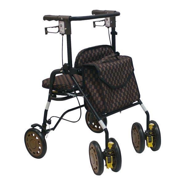 10000円以上送料無料 島製作所 歩行車 シンフォニーEVO Bブラウン ダイエット・健康 健康器具 車椅子 レビュー投稿で次回使える2000円クーポン全員にプレゼント