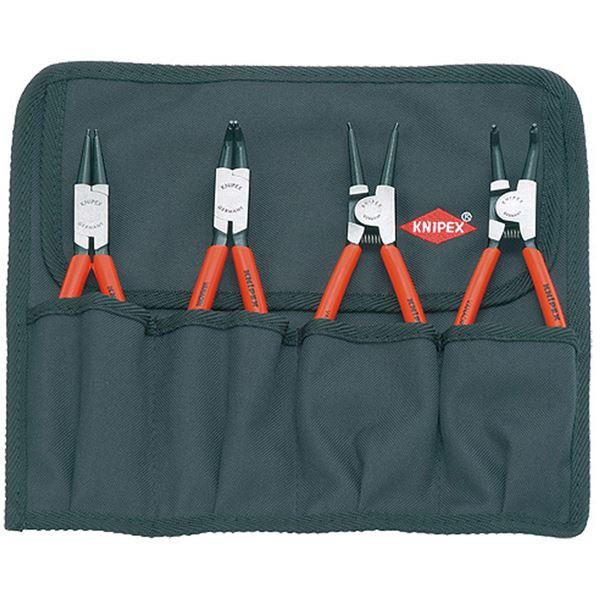 KNIPEX(クニペックス)001956 スナップリングプライヤーセット(4本組) スポーツ・レジャー DIY・工具 その他のDIY・工具 レビュー投稿で次回使える2000円クーポン全員にプレゼント