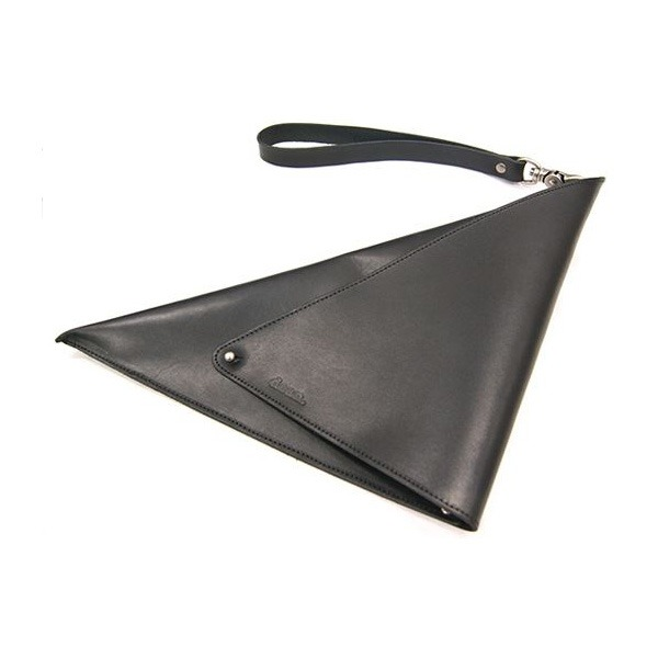 ★dean(ディーン) triclutch レザーバッグ 黒 ファッション バッグ ハンドバッグ レビュー投稿で次回使える2000円クーポン全員にプレゼント