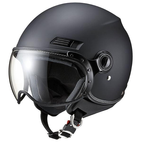 10000円以上送料無料 マルシン工業 (Marushin) MS-340 MBK(マットブラック) L 生活用品・インテリア・雑貨 バイク用品 ヘルメット レビュー投稿で次回使える2000円クーポン全員にプレゼント