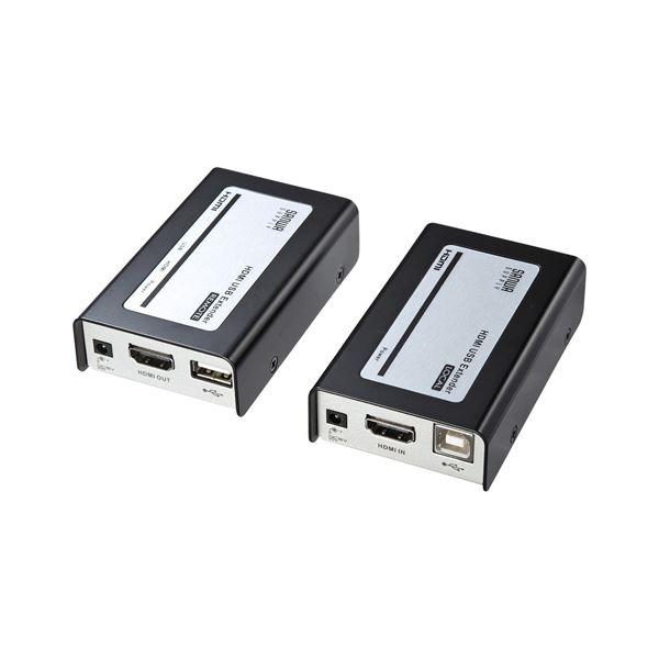 2個目以降1個につき次回使える1000円クーポンプレゼントさらにレビュー投稿で次回使える2000円クーポン全員にプレゼント 送料無料 サンワサプライ ☆国内最安値に挑戦☆ HDMI+USB2.0エクステンダー VGA-EXHDU AV お気にいる デジモノ その他のパソコン 周辺機器 パソコン レビュー投稿で次回使える2000円クーポン全員にプレゼント