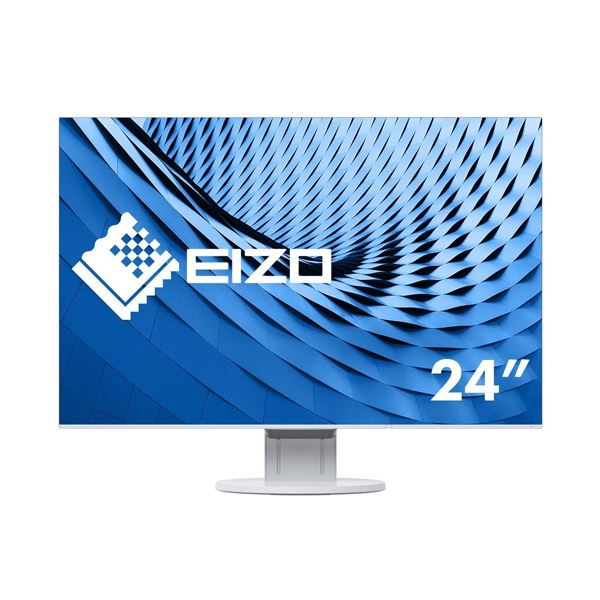EIZO FlexScan 24.1型カラー液晶モニター ホワイト EV2456-WT 1台 AV・デジモノ パソコン・周辺機器 液晶モニター レビュー投稿で次回使える2000円クーポン全員にプレゼント