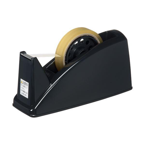 (まとめ) プラス テープカッター TC-101E BK 黒 10台【×3セット】 生活用品・インテリア・雑貨 文具・オフィス用品 テープ・接着用具 レビュー投稿で次回使える2000円クーポン全員にプレゼント